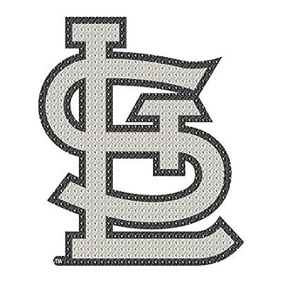 St. Louis Cardinals MLB Team Logo Car Truck SUV Motorcycle Trunk 3D Bling Gem Crystals Chrome Emblem Adhesive Decal