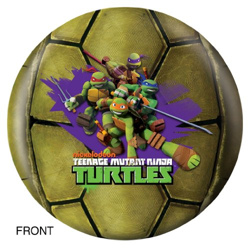 Teenage Mutant Ninja Turtles Bowling Ball- Michelangelo (6lbs) (Ninja Bowling Ball compare prices)
