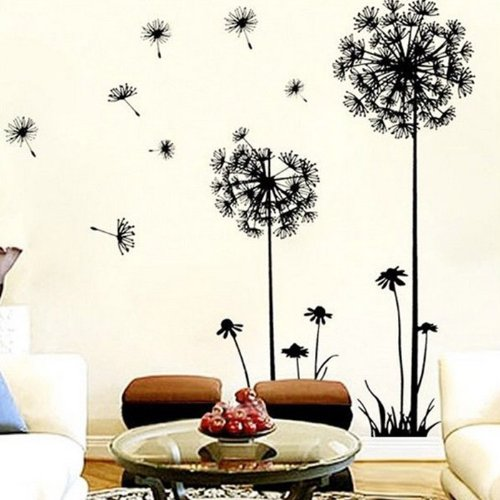 Bluesky Creative Dandelion Wall Art Decal Sticker Removable Mural Pvc Home Decor Gift front-511024