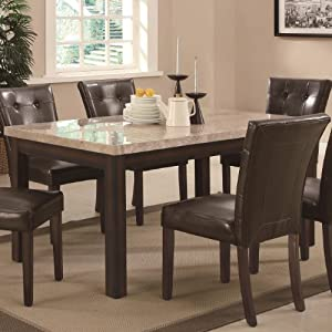 Amazoncom Milton Collection Real Marble Top Dining  : 51kUa2Bia6BLSY300 from amazon.com size 300 x 300 jpeg 22kB