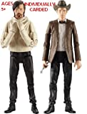 DOCTOR WHO SERIES 6 ACTION FIGURE THE ELEVENTH DOCTOR WEARING COWBOY HAT & THE ELEVENT DOCTOR IN STRAIGHT JACKET