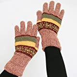 Double-Layered, Super Warm Unisex Gloves with Extra Long Cuff - Copper
