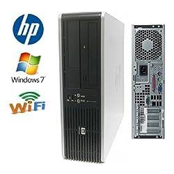HP DC7800 Desktop - Core 2 Duo 3.0GHz - 500GB 7200RPM HDD - 4GB RAM - WIFI - Featuring Dual Video Output - DVD/CD-RW - Windows 7 Home 32-Bit Operating System