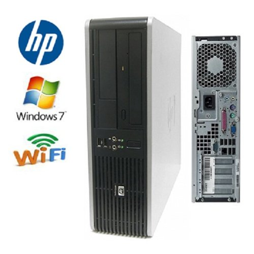 Hp Dc7800 Desktop - Core 2 Duo 3.0Ghz - 500Gb 7200Rpm Hdd - 4Gb Ram - Wifi - Featuring Dual Video Output - Dvd/Cd-Rw - Windows 7 Home 32-Bit Operating System