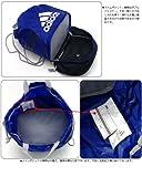 adidas アディダス KIDS 2ルーム バッグ IX596 ((X46294)ブラック/ホワイト)