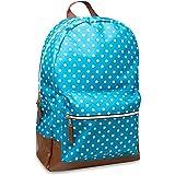 Mountain Edge Big Girls' Polka Dot Classic Backpack