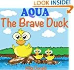 Kids Books: AQUA - The Brave Duck: (B...