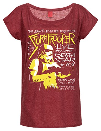 Stormtrooper - Live From Deathstar (Girly Shirt M/