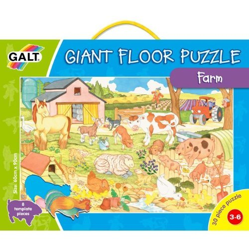 Cheap Fun Galt Farm Floor Puzzle (B00000IVXA)