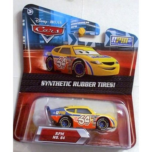 Disney / Pixar CARS Movie Exclusive 155 Die Cast Car with Synthetic Rubber Tires RPM