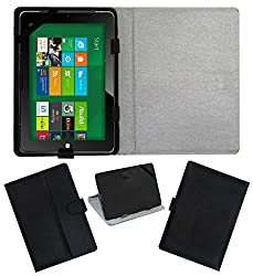Acm Leather Flip Flap Case For Nxi M1006r Cover Stand Black