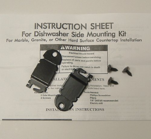 Whirlpool 8212560 Anti-Tip Side Mount Kit
