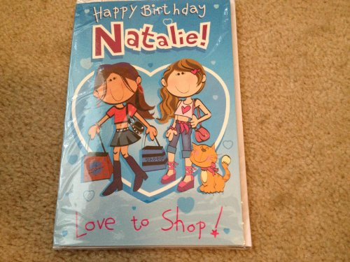Happy Birthday Natalie - Singing Birthday Card