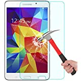 Samsung Galaxy Tab 4 7.0 Screen Protector, OMOTON Tempered Glass Screen Protector for Galaxy Tab 4 7-inch with [Anti Explosion] [9H Hardness] [High Definition] [Scratch Resist][Lifetime warranty]