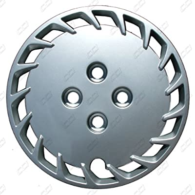 CCI IWCB461-13S 13 Inch Bolt On Silver Finish Hubcaps - Pack of 4