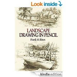 Amazon.com: Landscape Drawing in Pencil (Dover Art