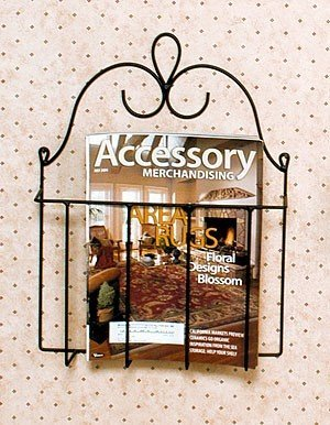 J&J Wire Victorian Mag/Cookbook Holder
