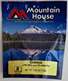 Mountain House Granola with Blueberries and Milk (1 Pouch)