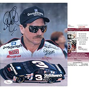 Dale Earnhardt Autographed 8x10 Photo by Hollywood Collectibles