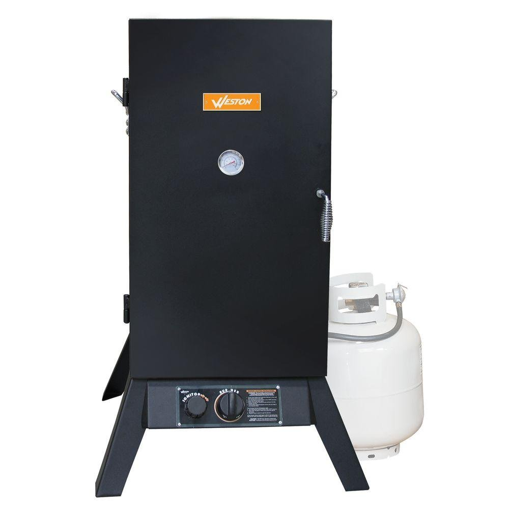 32 in. Vertical Propane Gas Smoker roomble кожаный стул weston