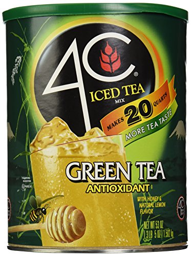 4C Iced Tea Mix, Green, 53 oz (4c Iced Tea Mix compare prices)