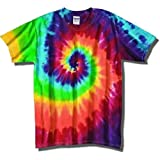 Tie Dye Mania Adult Classic Retro Swirl Tie-Dye S/S T-Shirt