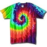 Tie Dye Mania Adult Classic Retro Swirl Tie-Dye S/S T-Shirt