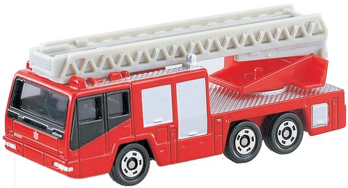 Tomica No.108 Hino Aerial Ladder Fire Truck - 1