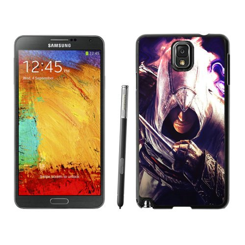Diy Assassins Creed Desmond Miles Graphics Knife Hand Note 3Black Phone Case