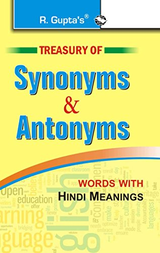 Treasury of Synonyms & Antonyms