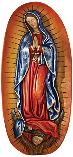 The Virgin of Guadalupe Religious Wall Sculpture