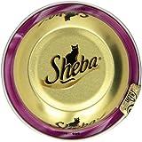 Sheba Katzenfutter Feine Filets mit Meeresfruechten, 24 Dosen (24 x 80 g)