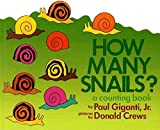 img - for [How Many Snails?: A Counting Book] (By: Jr Paul Giganti) [published: August, 2008] book / textbook / text book