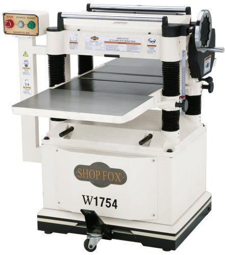 Images for SHOP FOX W1754 20-Inch Planer with Built-In Mobile Base