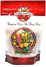 Concord Candy Blox, Build\'Em & Eat\'Em- Assorted Fruit Flavor, 1 Lb
