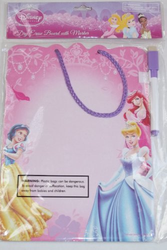 Disney Princess Dry Erase Board with Marker - 1