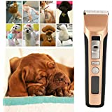 Alcoa Prime Newest Hot Professional Rechargeable Electric Pet Hair Trimmer Dog Cat Rabbit Hair Clipper For Pets Grooming Spare Head