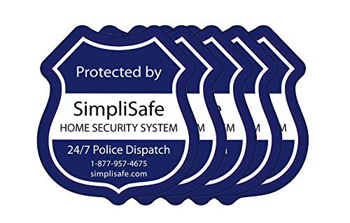 SimpliSafe Window Decals Pack of 5 (Security Stickers For Windows compare prices)