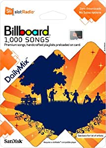 SanDisk slotRadio Daily Mix Card (1,000 Songs)
