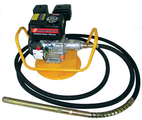 Discover Bargain Powerland PDZB35 6-1/2-HP Gas Powered Concrete Vibrator With 20-Foot Hose