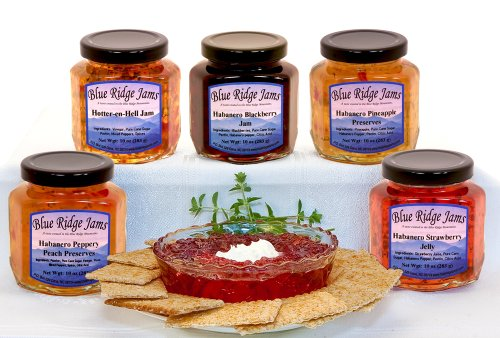 Blue Ridge Jams: Habanero Pepper Jelly, Jams,