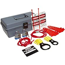 Brady Cable Lockout Kit with Carrying Case
