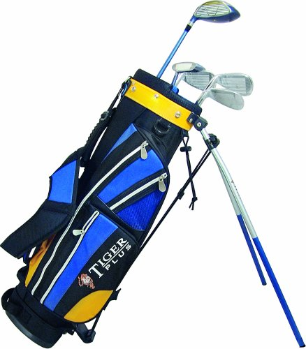 Longridge Left Handed Junior Tiger Plus Package with Stand Bag - Ages 4 - 7