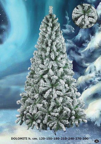 Albero Di Natale H 240.Albero Di Natale Dolomiti H 120 Cm 230 Rami Prezzi E Offerte Market Patentati