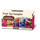 Celestial Seasonings Fruit Tea Sampler (5 Flavors), 18-Count Tea Bags (Pack of 6)
