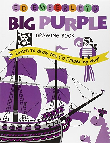 Ed Emberley's Big Purple Drawing Book (Ed Emberley's Big Series) (The Big Book Of Drawing compare prices)
