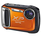FUJIFILM XP150 – orange + Case from Compact range + 8 GB SDHC Memory Card . Picture