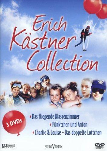 Erich Kästner Collection - Das fliegende Klassenzimmer, Pünktchen und Anton, Charlie & Louise (3 DVDs)