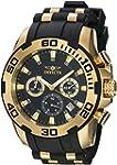 Invicta Men's Pro Diver Gold-Tone Pol...
