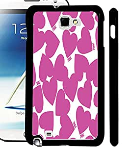 ColourCraft Loving Hearts Design Back Case Cover for SAMSUNG GALAXY NOTE 2 N7100